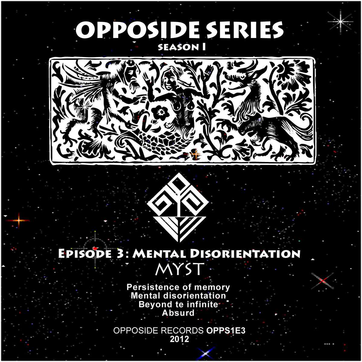 Myst - Beyond the Infinite @ 'Mental Disorientation' album (electronic, drum'n'bass)