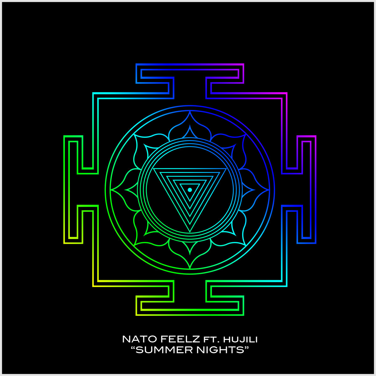 Nato Feelz feat. hujili - Summer Nights @ 'Summer Nights ft hujili' album (electronic, dubstep)