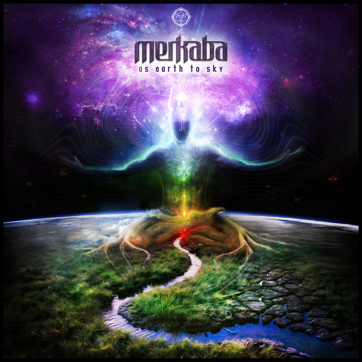 Merkaba - Heart Song @ 'As Earth to Sky' album (electronic, ambient)