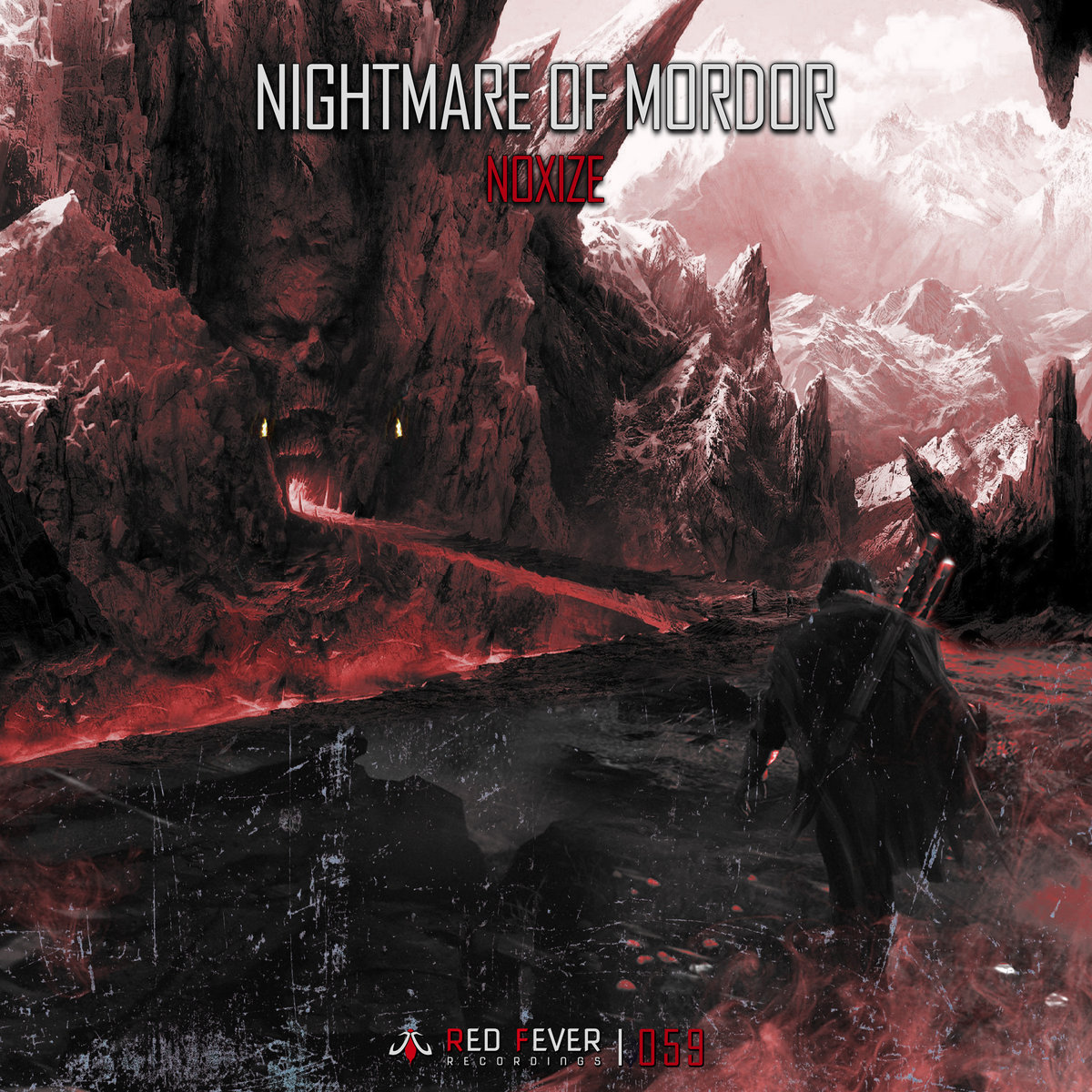 Noxize feat. Kalima - The Mind @ 'Nightmare of Mordor' album (electronic, gabber)