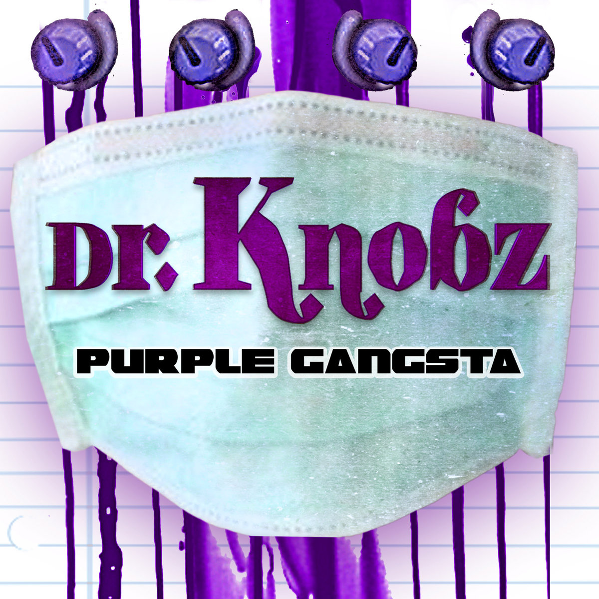 Dr. Knobz - Crunk Strut (Blackheart & Skulltrane Remix) @ 'Purple Gangsta' album (electronic, dubstep)
