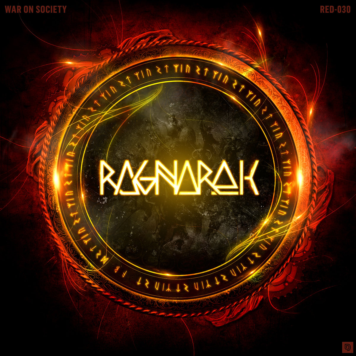 Ragnarok - Sensations Of The Mind @ 'War On Society' album (electronic, gabber)