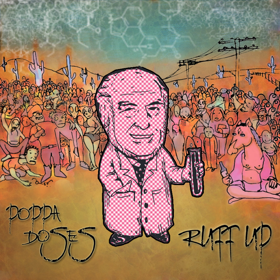 Poppa Doses - Ruff Up (TRUTH Remix) @ 'Ruff Up' album (electronic, dubstep)