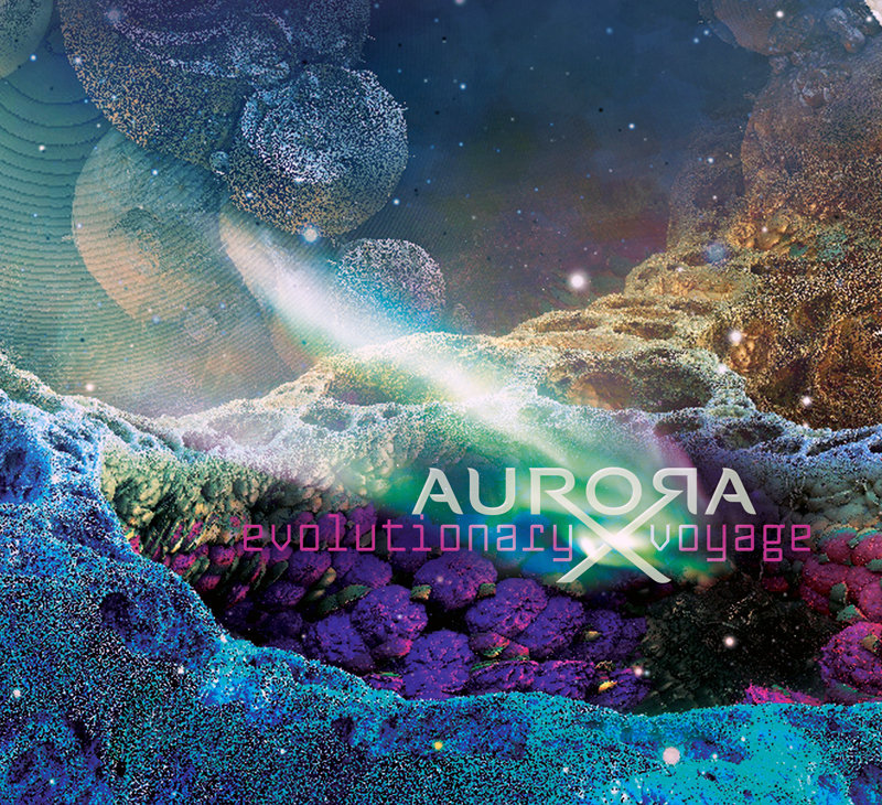 AuroraX feat. EUERPI - Tales of the Particles @ 'Evolutionary Voyage' album (aurora x album mp3, aurorax)