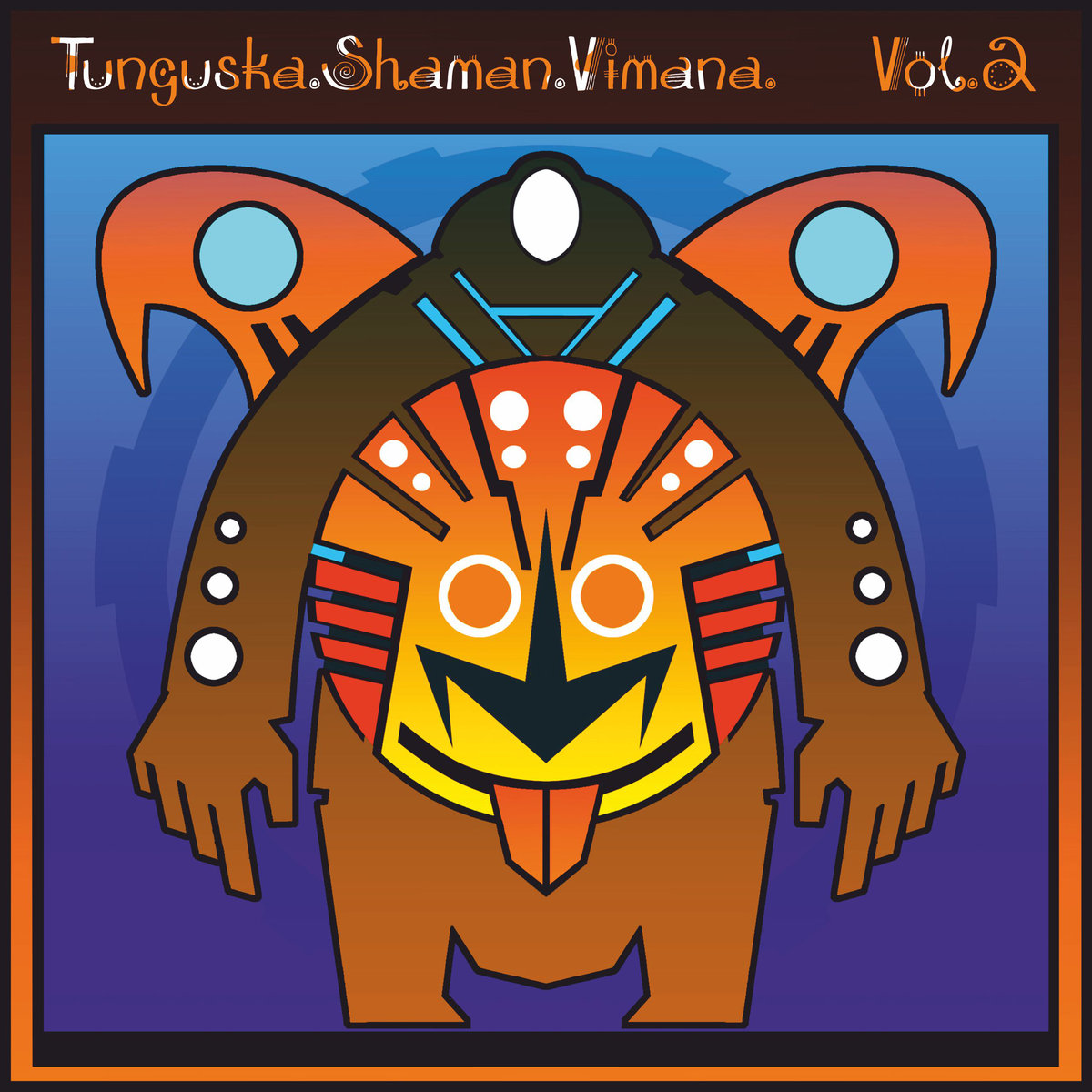 Viktor Gradov - American Indian Dreams @ 'Ellipsis II - Tunguska.Shaman.Vimana. Vol.2' album (electronic, ambient)