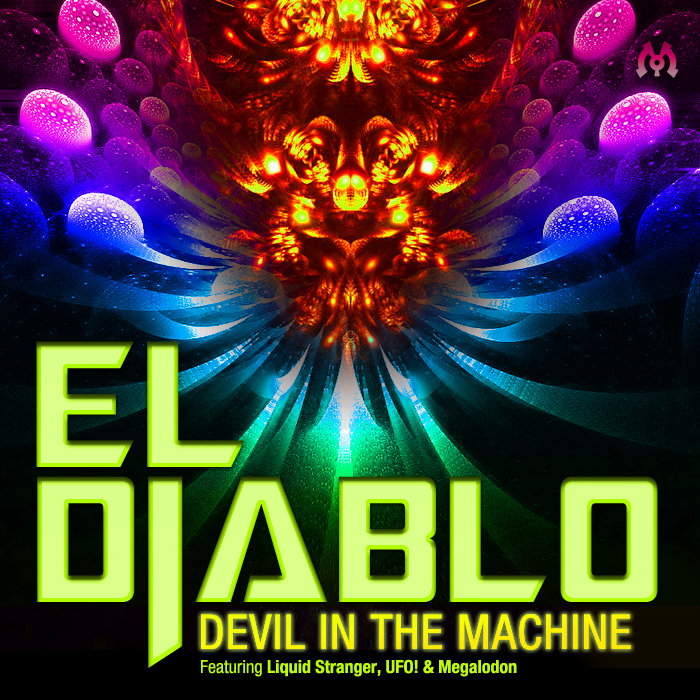 El Diablo feat. Mista Chatman - Ruffer Dan Dem (Megalodon Remix) @ 'Devil In The Machine' album (electronic, dubstep)