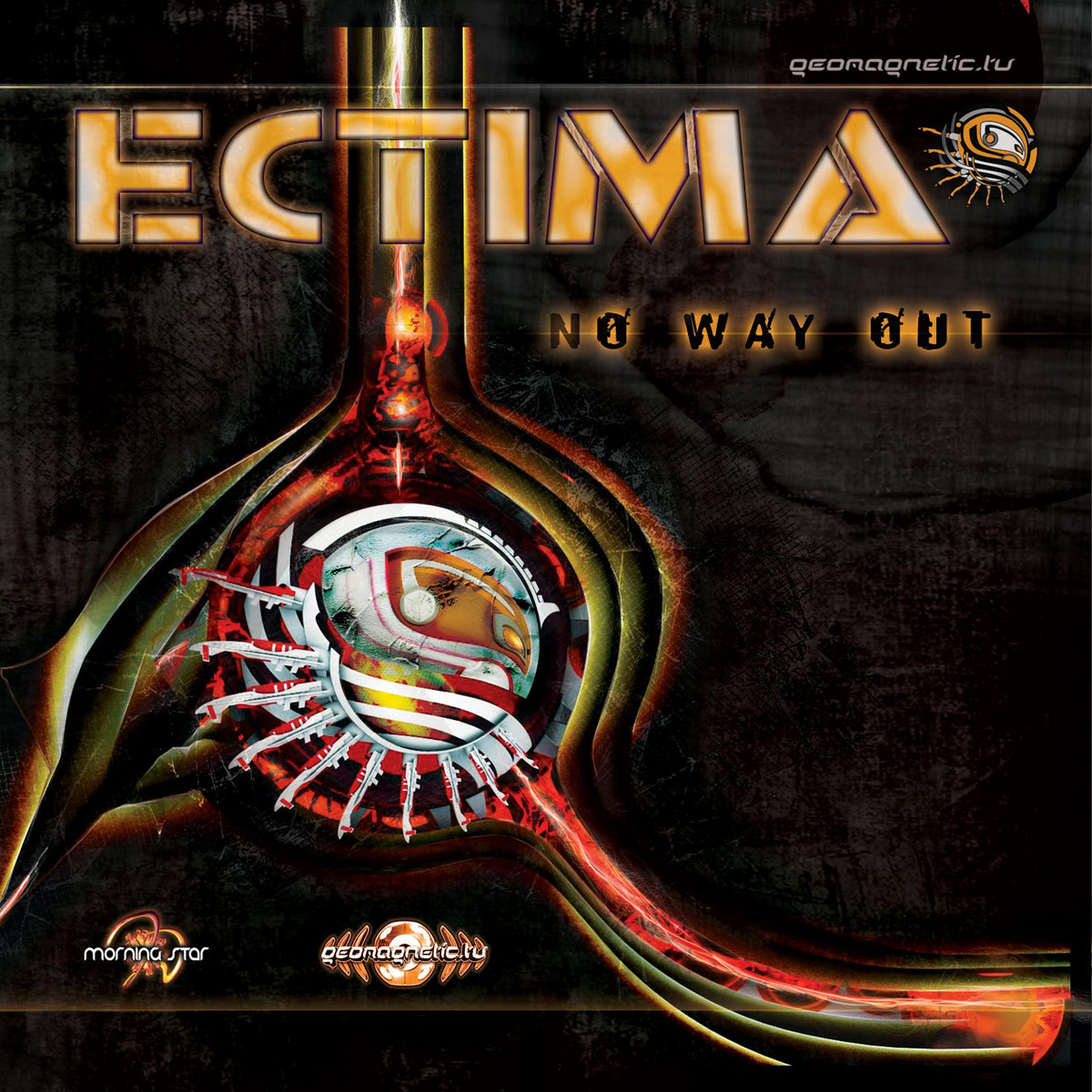 Ectima - Metal Isolation (Remix) @ 'No Way Out' album (electronic, goa)