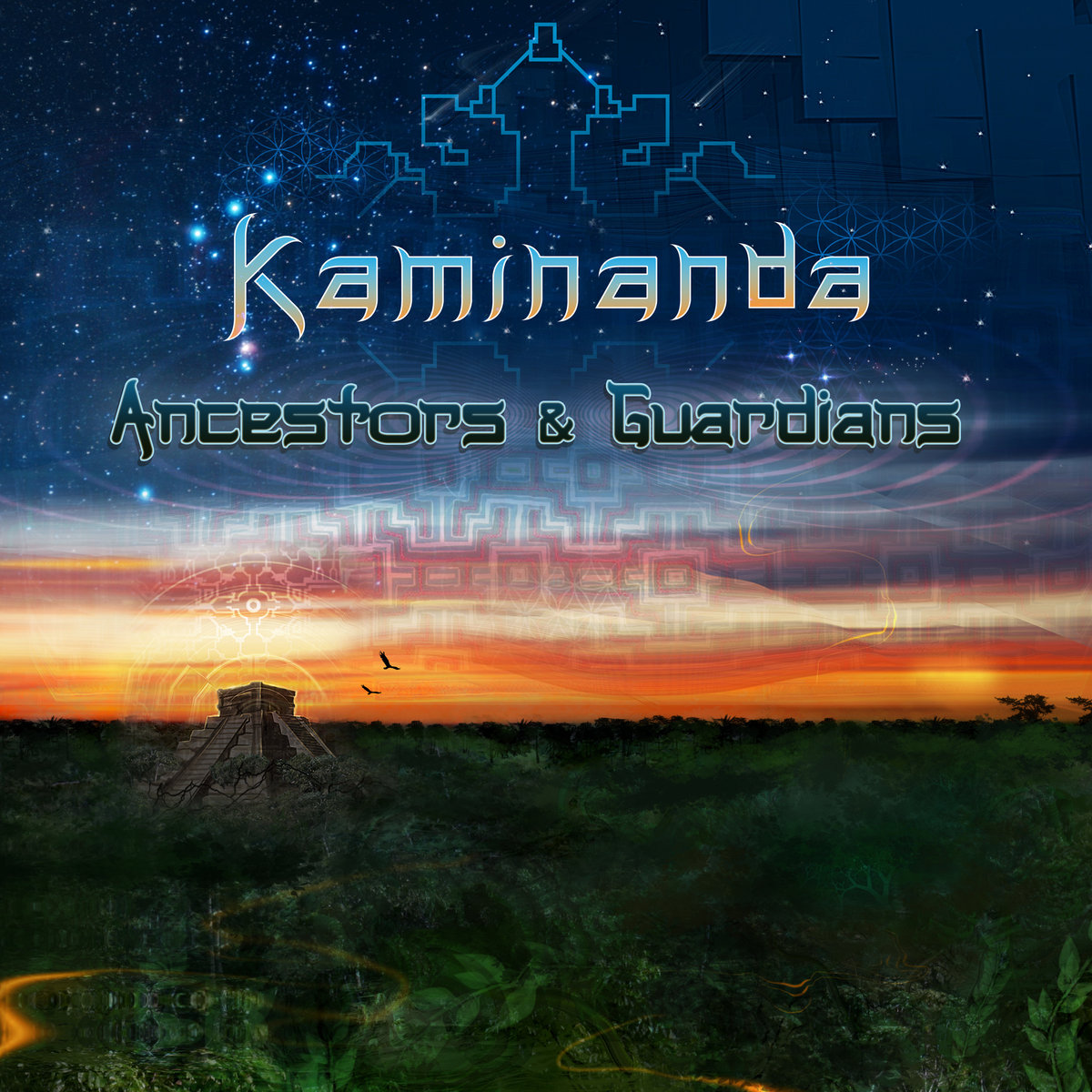 Kaminanda - Liquid Sunrise @ 'Ancestors & Guardians' album (california, electronic)