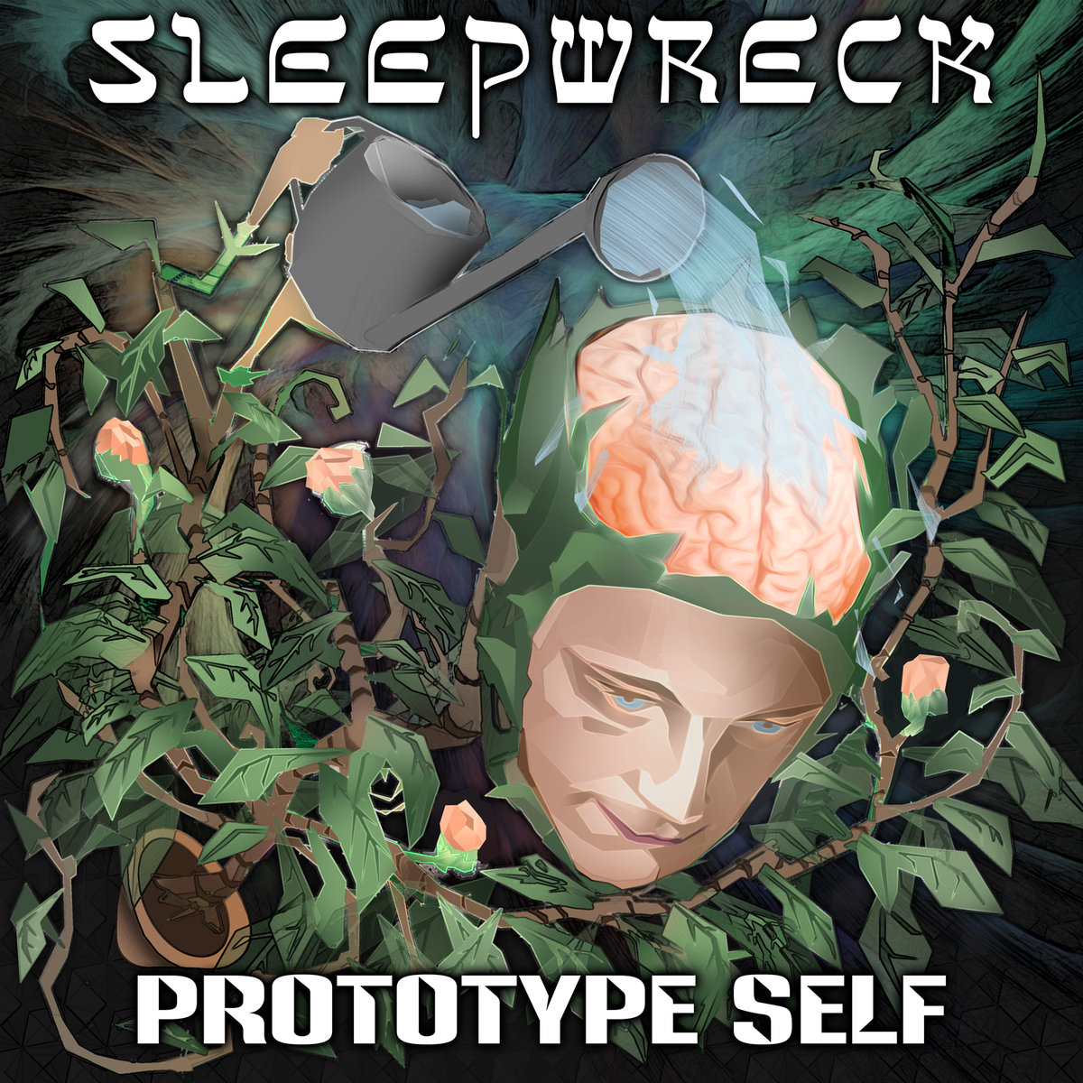 Goopsteppa - Lighten Thy Heavy Heart (Sleepwreck Remix) @ 'Prototype Self' album (bass, electronic)