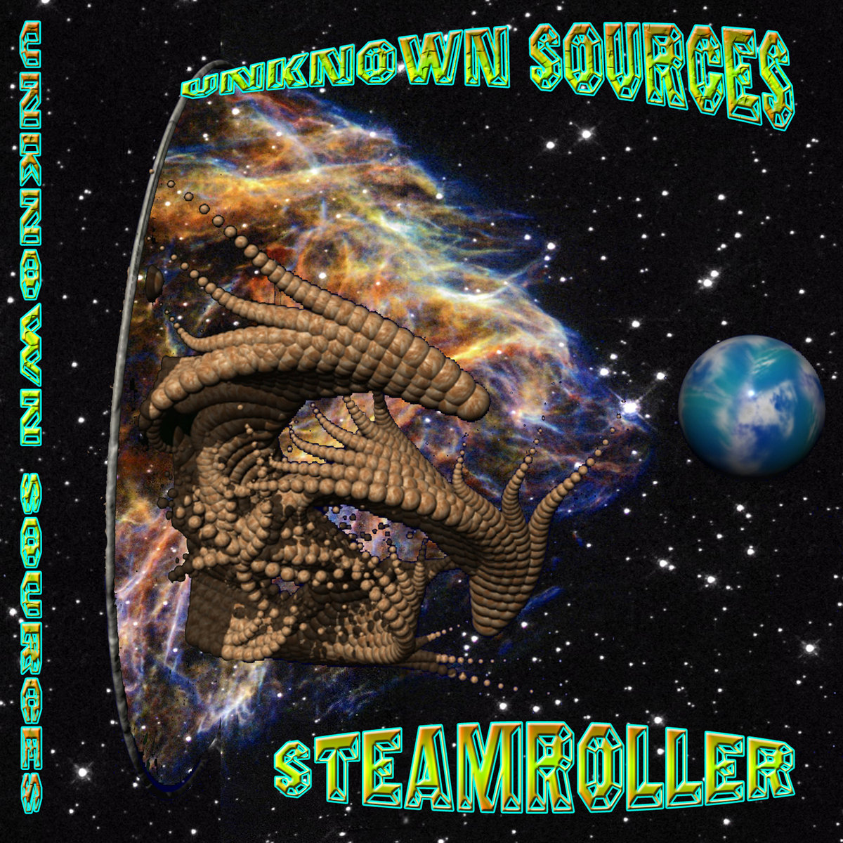Unknown Sources - Cyberbaba @ 'Steamroller' album (electronic, goa)