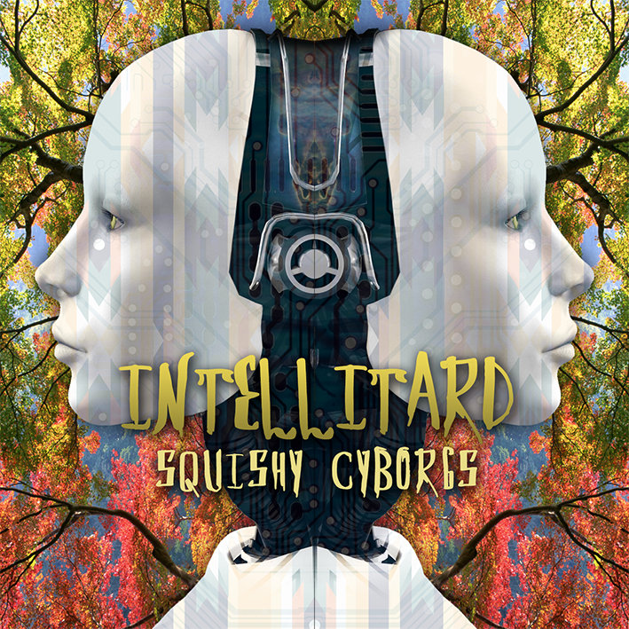 Intellitard - Optimystic @ 'Squishy Cyborgs' album (bass, electronic)