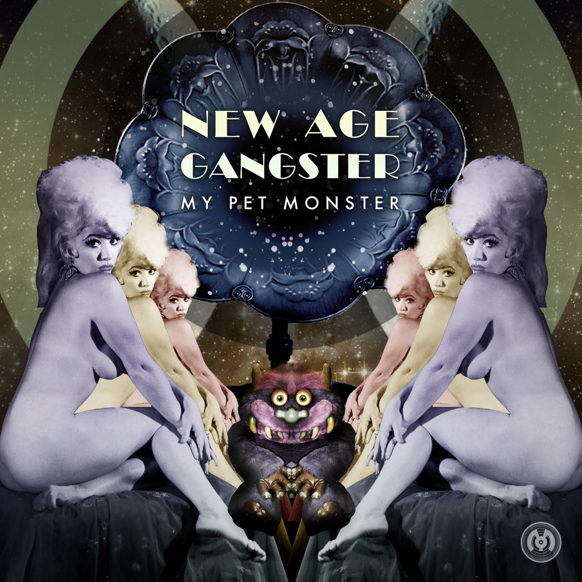 My Pet Monster - New Age Gangster @ 'New Age Gangster' album (electronic, dubstep)