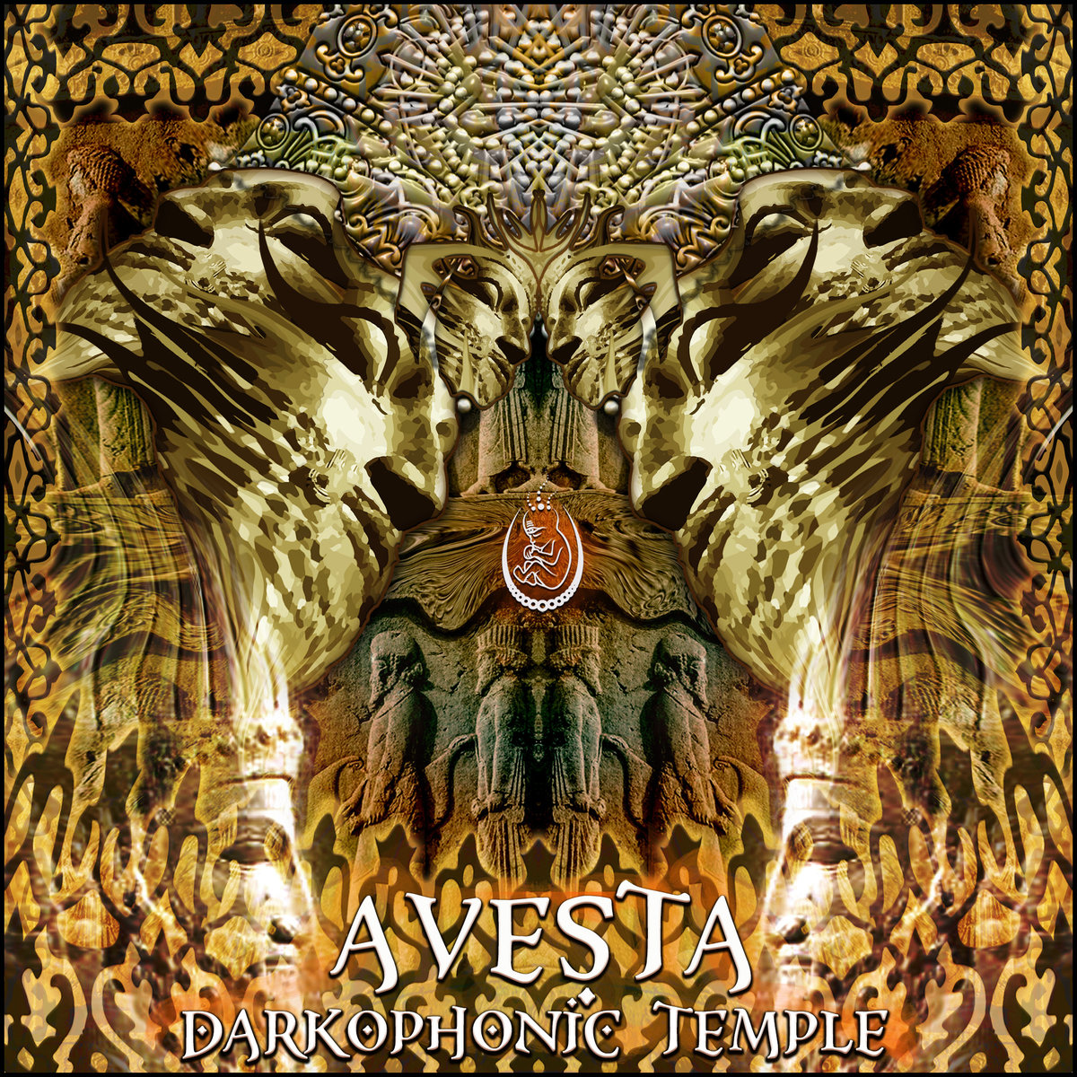 Darkophonic Temple - Darkology @ 'Avesta' album (ambient, electronic)