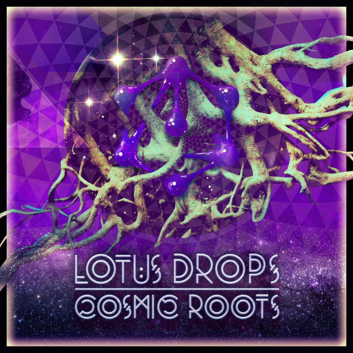 Lotus Drops - Under the Veil @ 'Cosmic Roots' album (electronic, dubstep)