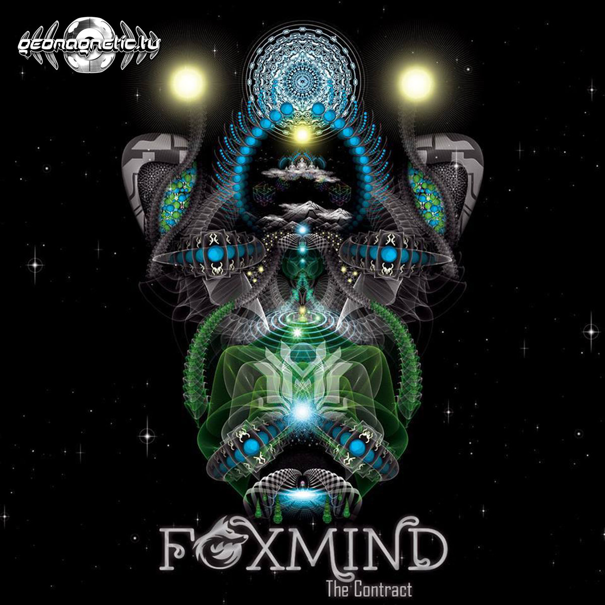 FoxMind - Area 51 @ 'The Contract' album (electronic, goa)