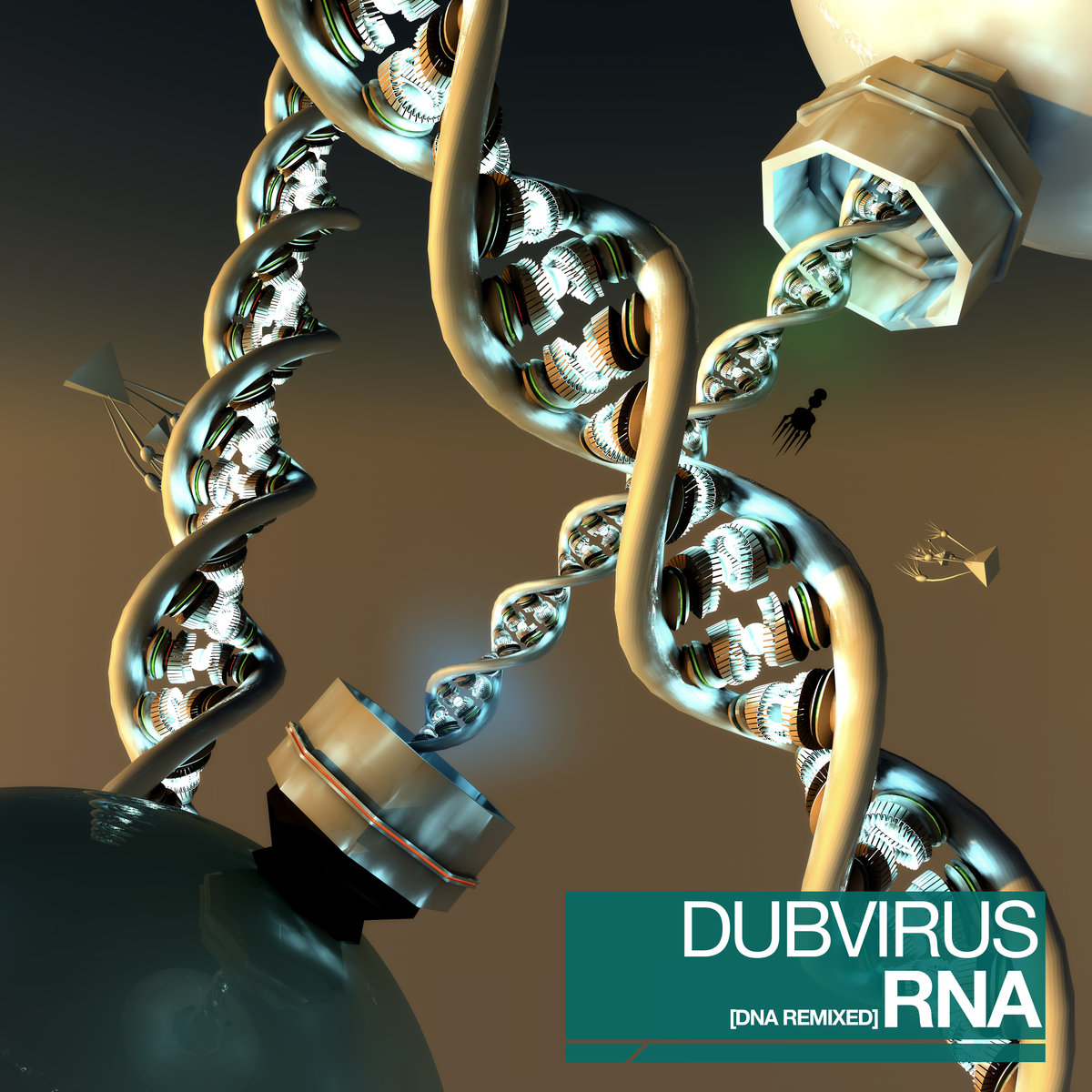 Dubvirus - Bridging The Gap (MiHKAL Remix) @ 'RNA (DNA Remixed)' album (bass, dubvirus)