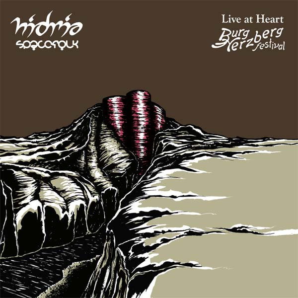 Hidria Spacefolk - Symetria @ 'Live at Heart' album (alternative, astrobeat)