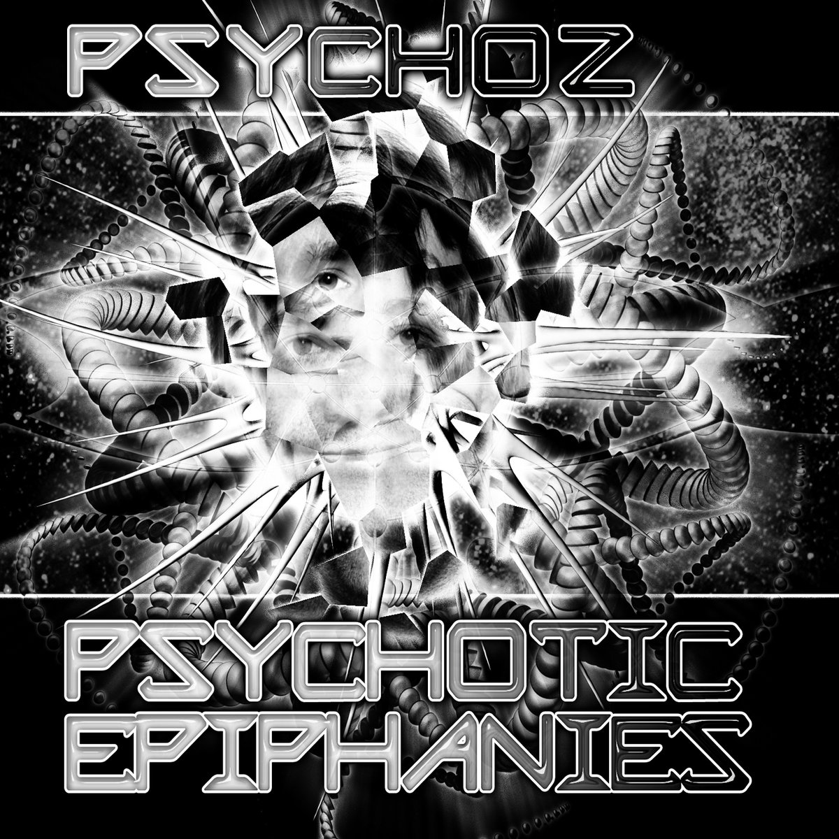 Psychoz - Unchosen Path @ 'Psychotic Epiphanies' album (electronic, goa)