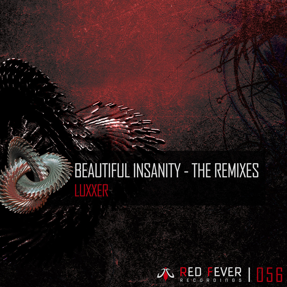 Luxxer - Beautiful Insanity (Rheeza remix) @ 'Beautiful Insanity (The remixes)' album (carnage, cluster)