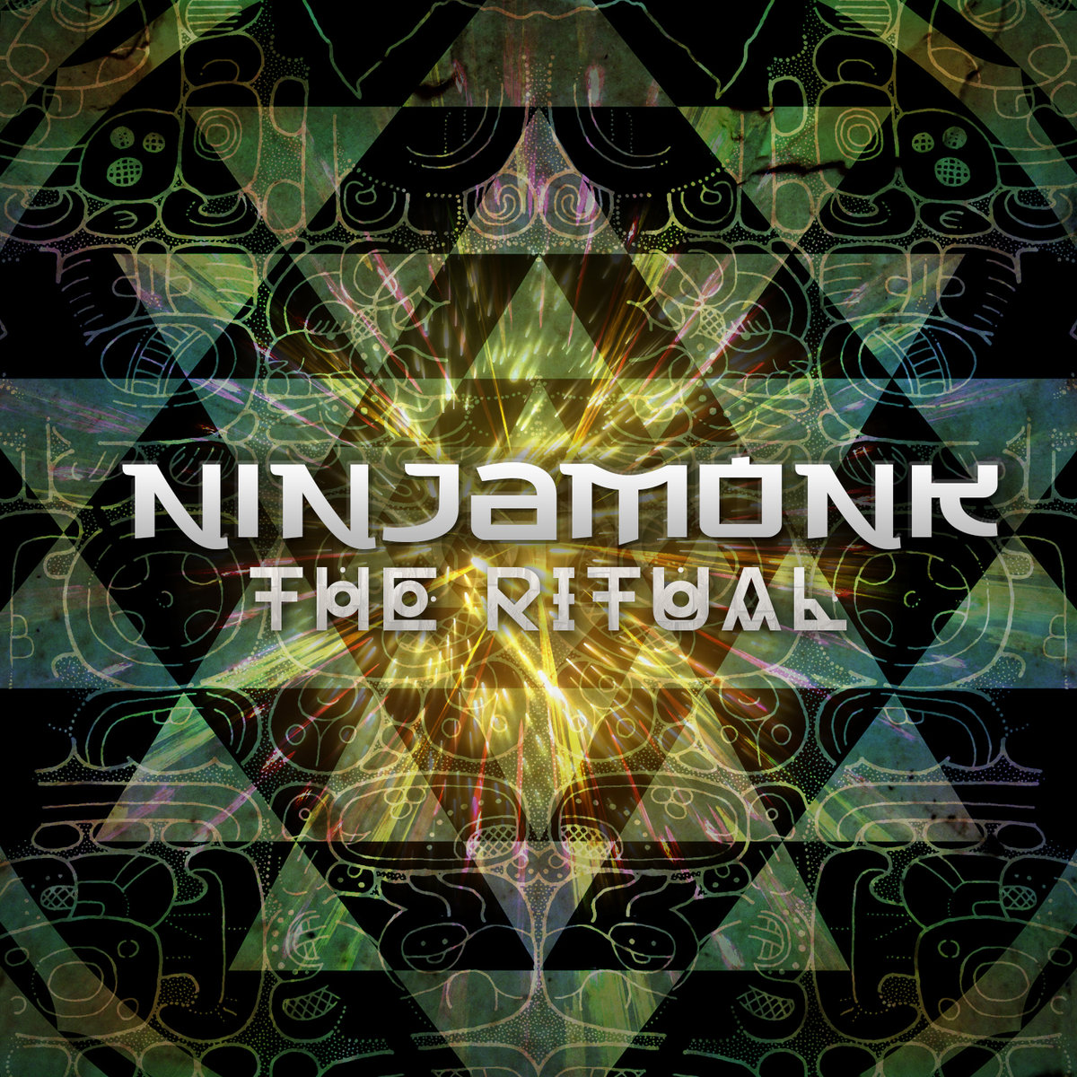 Ninjamonk - Luk Umen Tun Ben Can @ 'The Ritual' album (bass, chill)