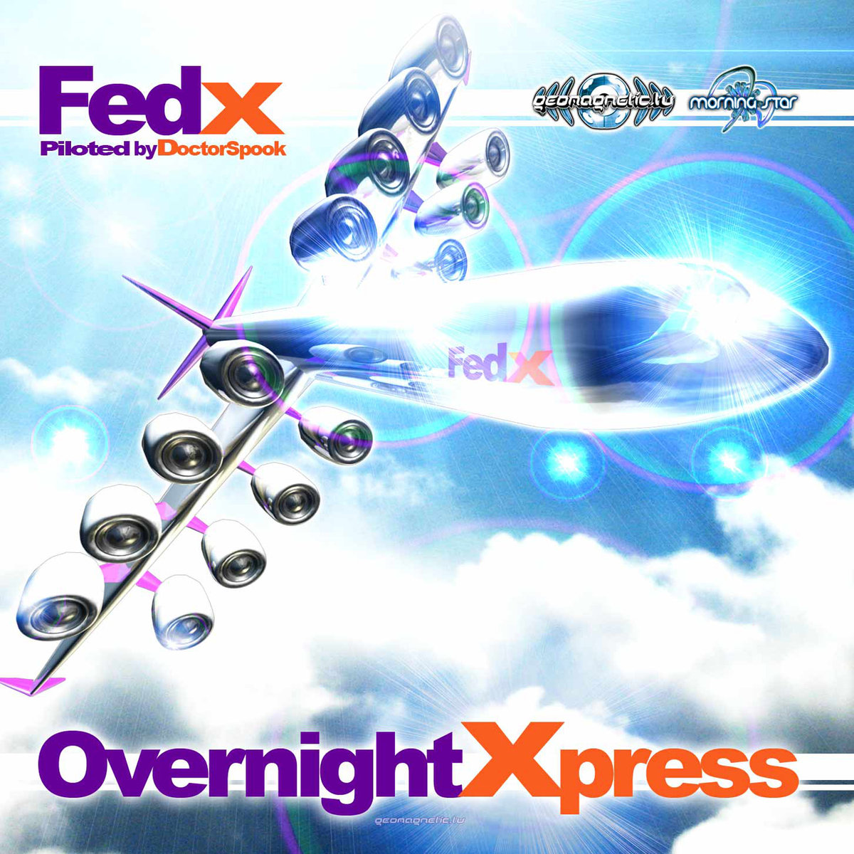 Various Artists - Fed X – Overnight Xpress (Piloted by Dr. Spook)
