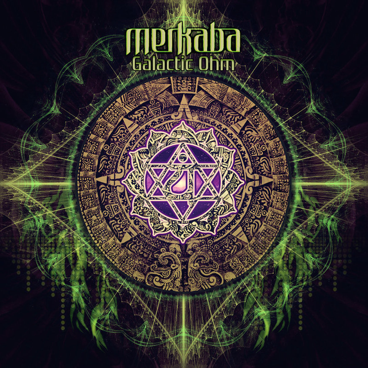 Merkaba - Galactic Ohm (artwork)