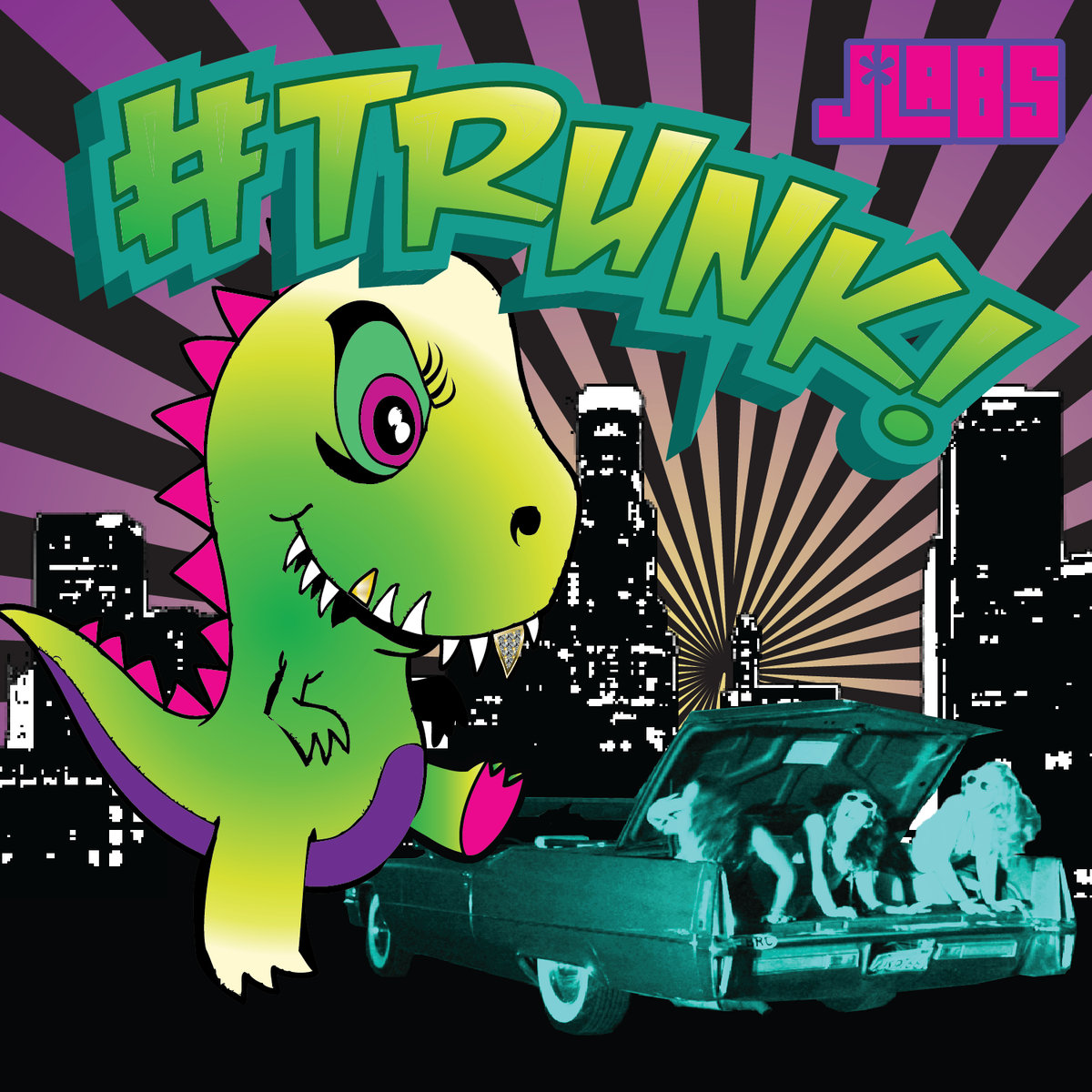 J*Labs - Zillah Soundbwoy @ '#TRUNK' album (bass, electronic)
