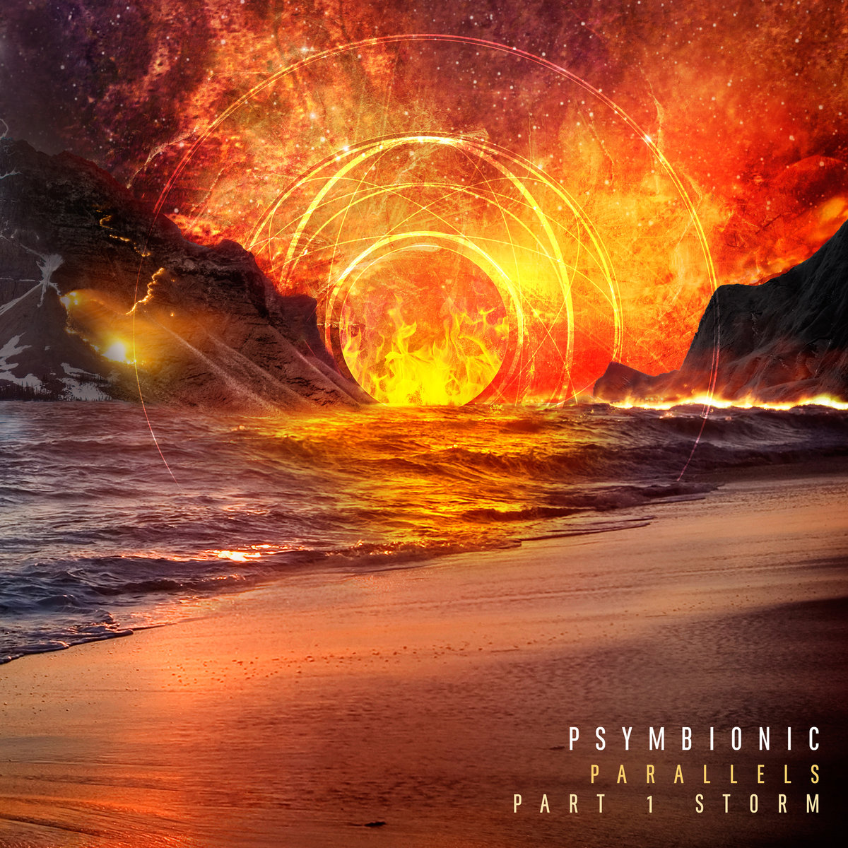 Psymbionic - Parallels (Part 1: Storm) (artwork)