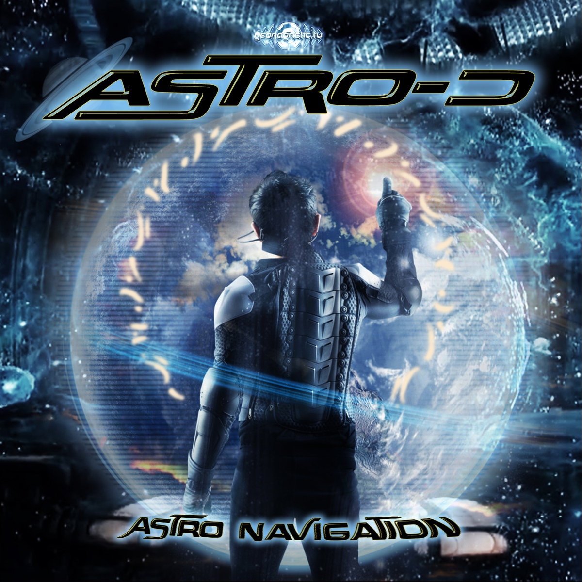 Astro-D - Night Sun @ 'Astro Navigation' album (electronic, goa)