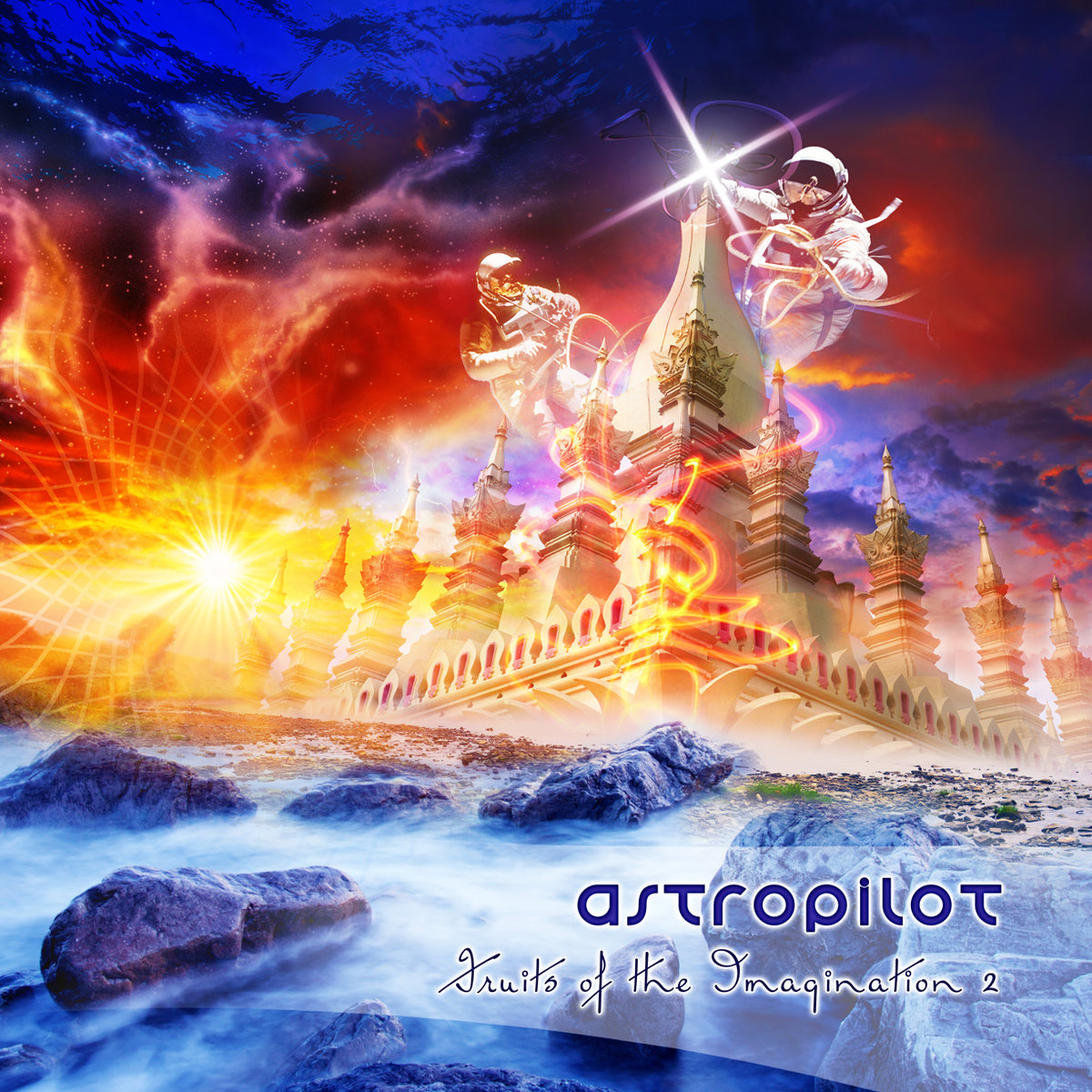 AstroPilot - The Green Eyes Mystery ² @ 'Fruits of the Imagination 2' album (astropilot, electronic)