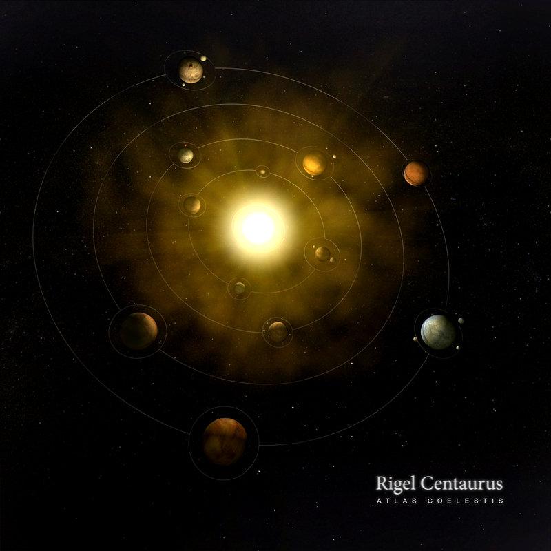 Rigel Centaurus - Atlas Coelestis