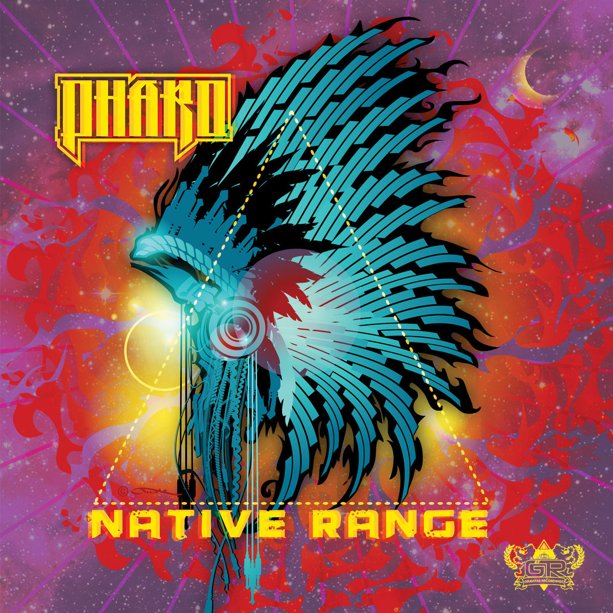 Pharo - Pacman Grind @ 'Native Range' album (austin, bass)