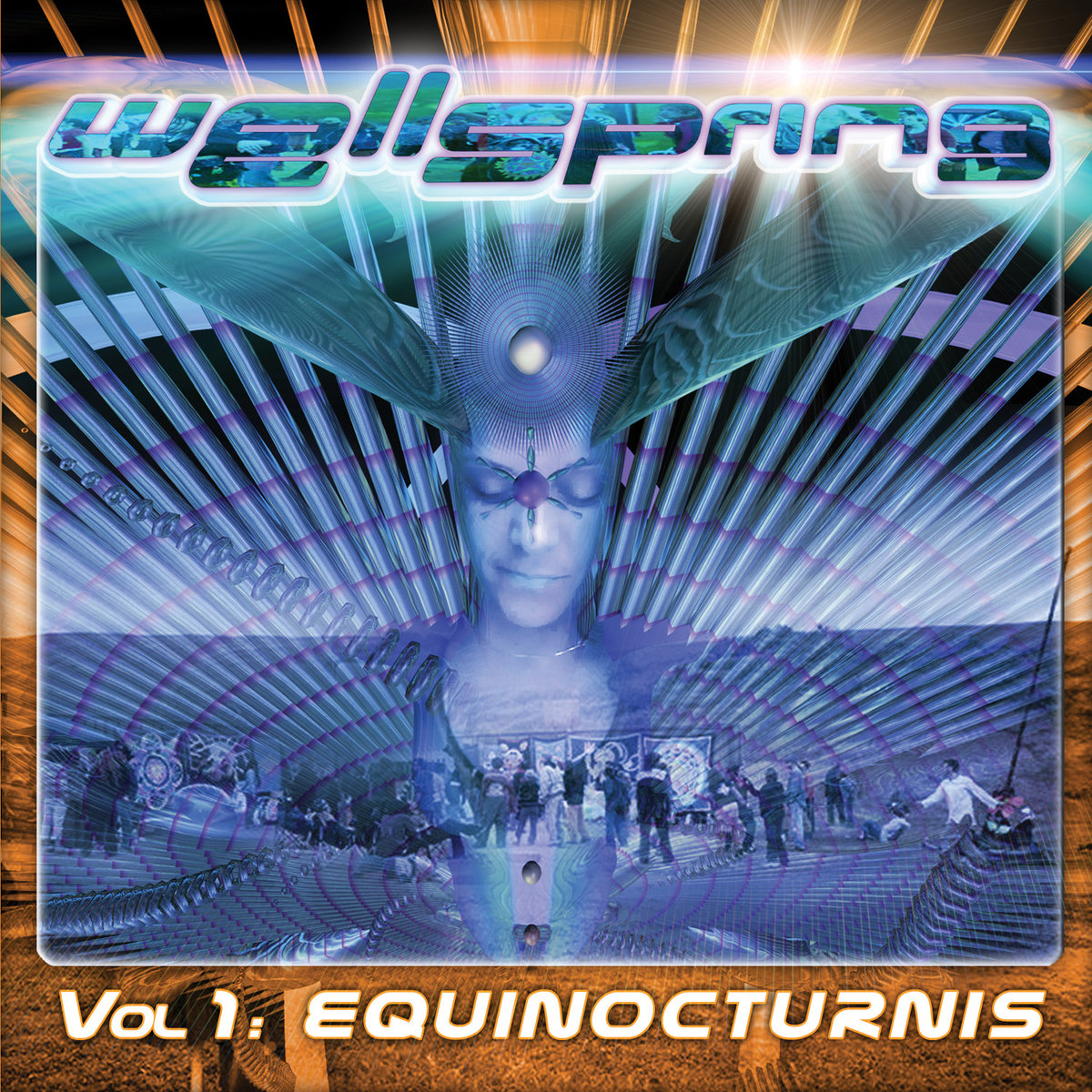 Penta - Blue Xmas @ 'Various Artists - Wellspring Vol. 1: Equinocturnis' album (electronic, goa)