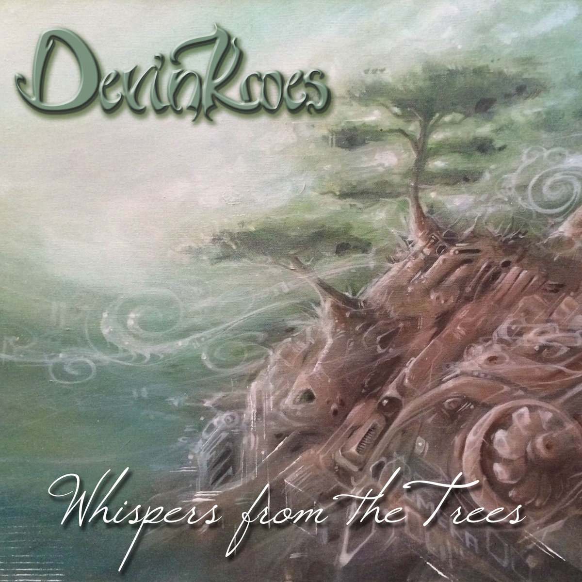 Devin Kroes - Breaking Through @ 'Whispers from the Trees' album (bass, downtempo)