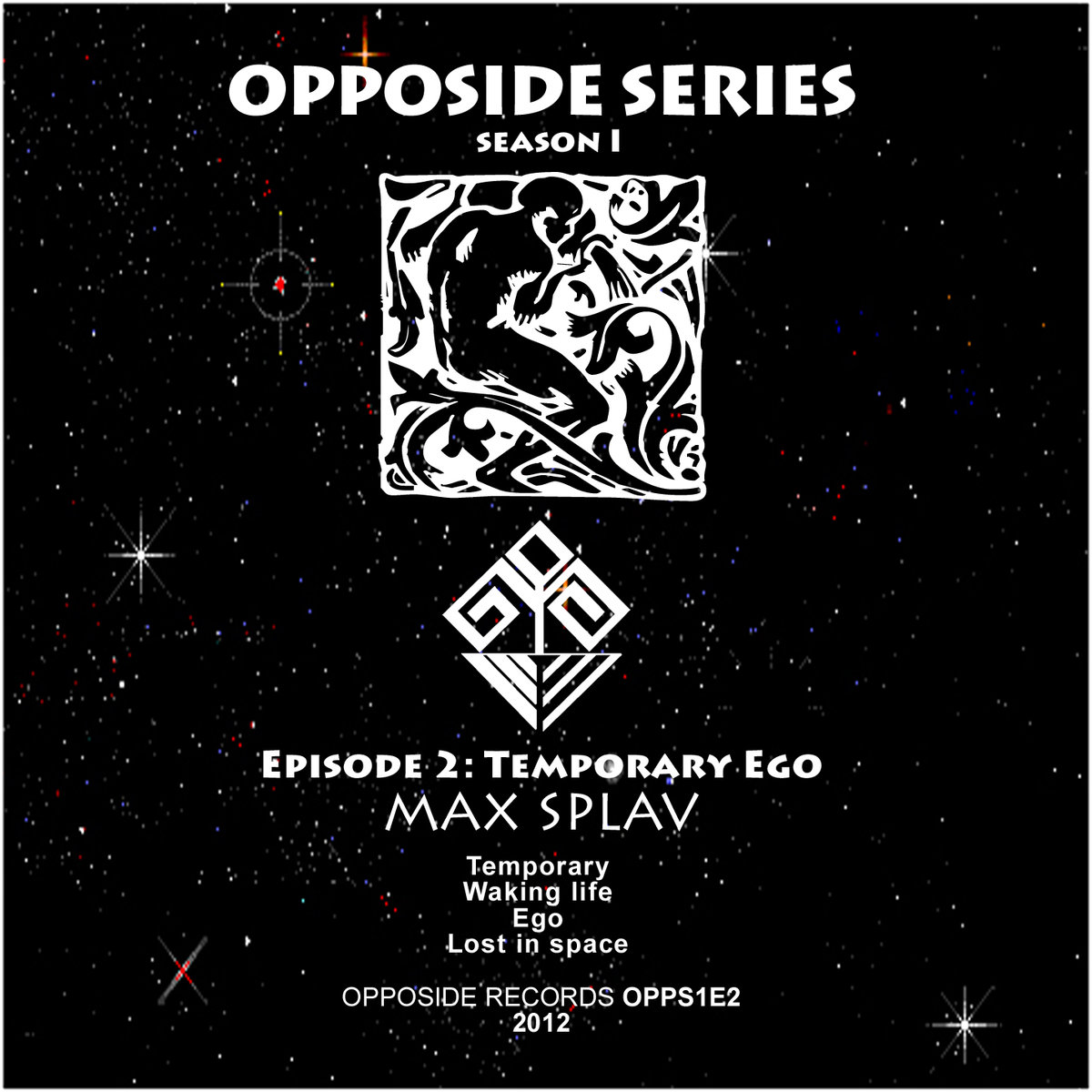 Max Splav - Ego @ 'Temporary Ego' album (electronic, drum'n'bass)
