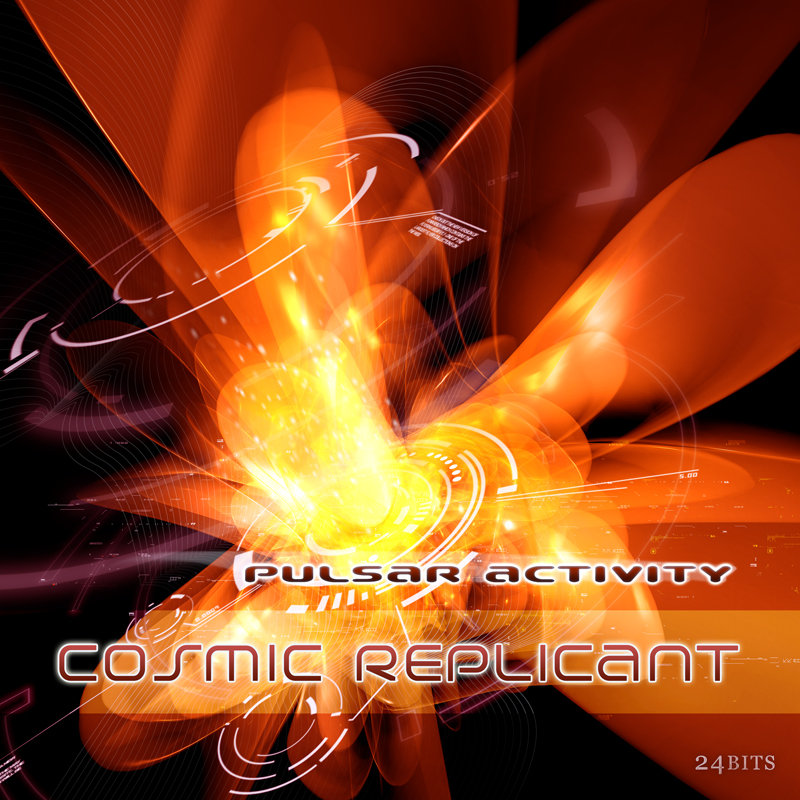 Cosmic Replicant - Violet Flame @ 'Pulsar Activity' album (cosmic replicant  altar records, cosmic replicant  flac)
