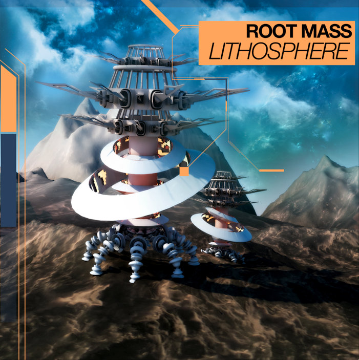 Root Mass - Keeping Up @ 'Lithosphere' album (bass, electronic)