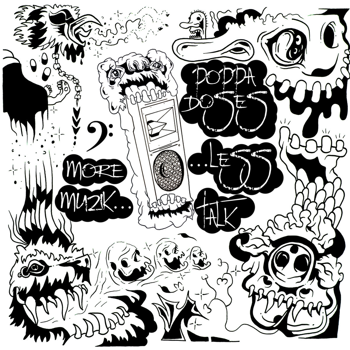 Poppa Doses - Jaded Undulated @ 'More Muzik Less Talk' album (electronic, dubstep)