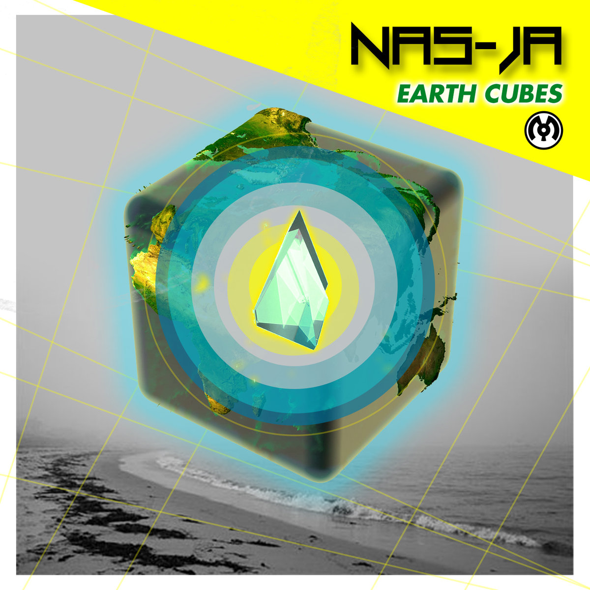Nas-Ja - Safely Back @ 'Earth Cubes' album (electronic, dubstep)