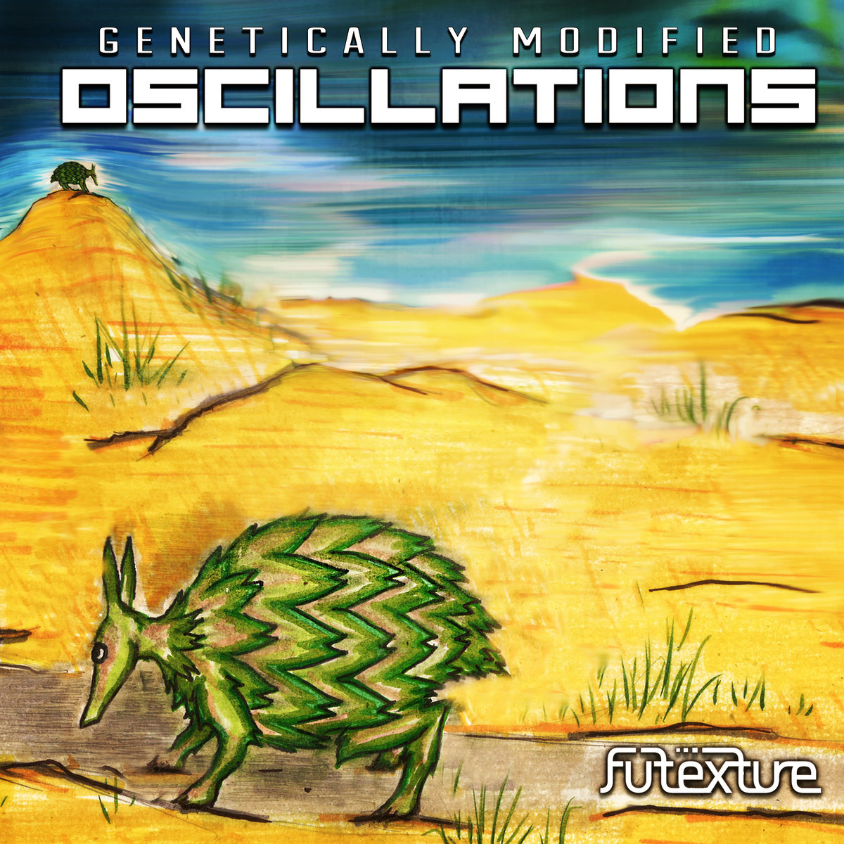 Futexture - Eggplantelope @ 'Genetically Modified Oscillations' album (bass, breaks)