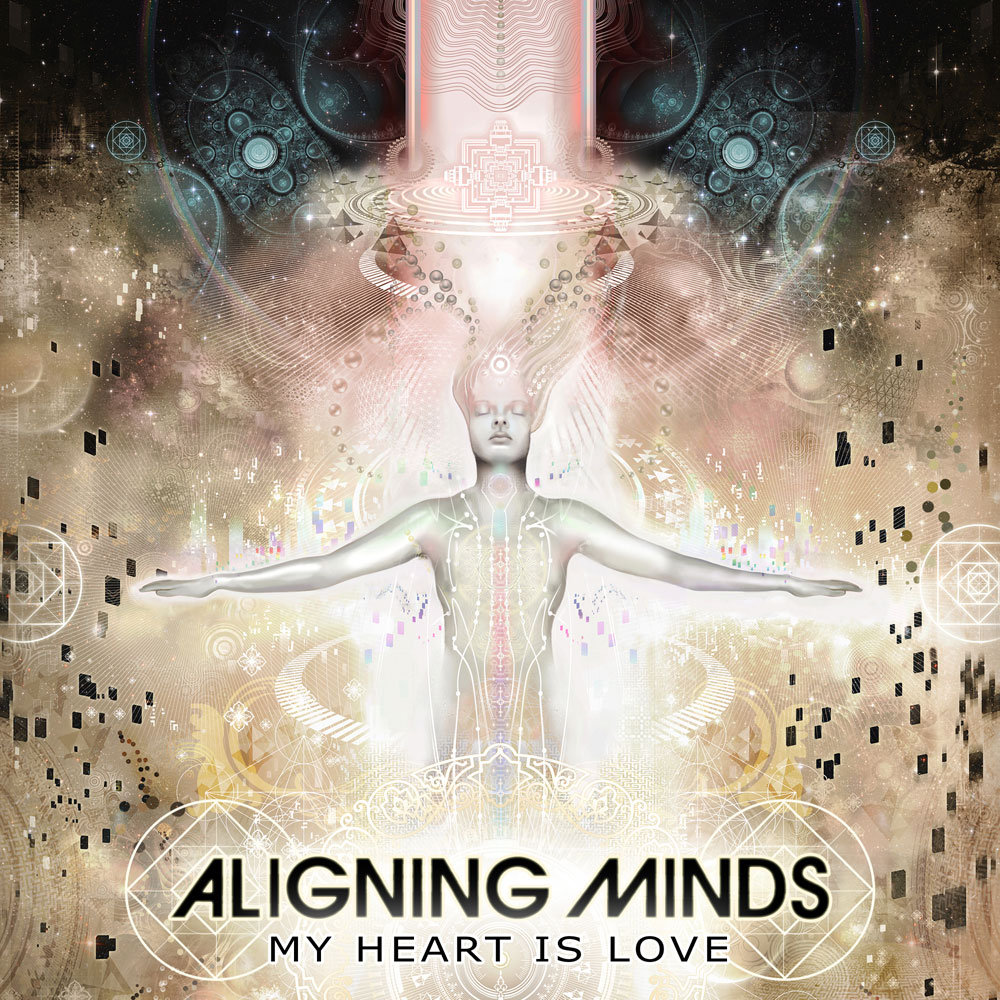 Aligning Minds - Bright Flames @ 'My Heart Is Love' album (future soul, breaks)