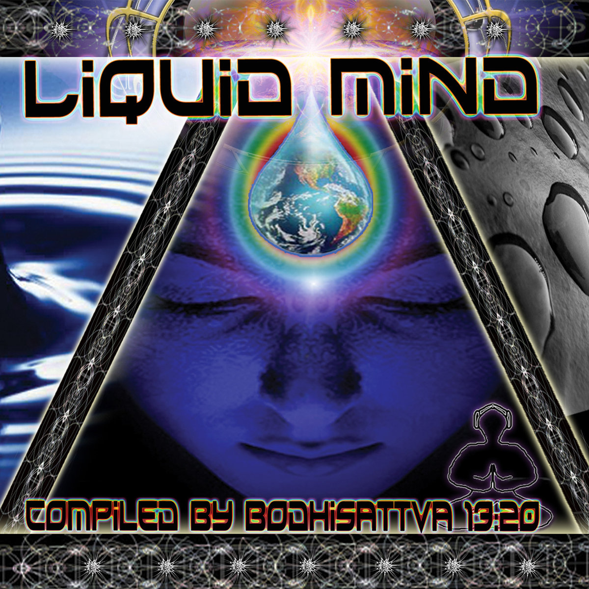 Monks of Madness - Broken Machine Office @ 'Various Artists - Liquid Mind (Compiled by Bodhisattva 13:20)' album (electronic, and)