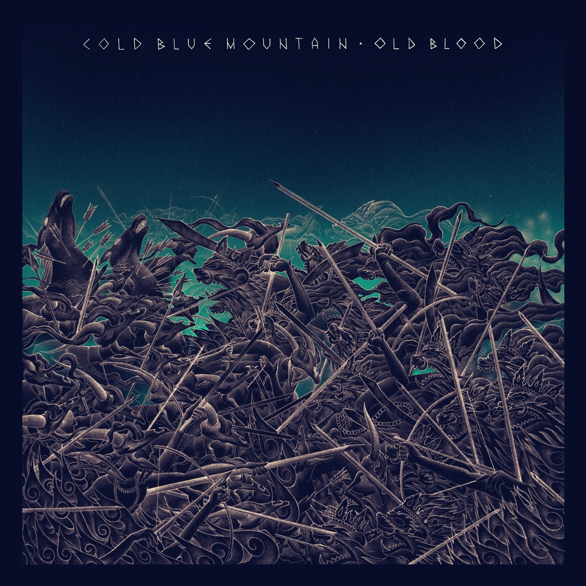 Cold Blue Mountain - New Alliances @ 'Old Blood' album (metal, crust)