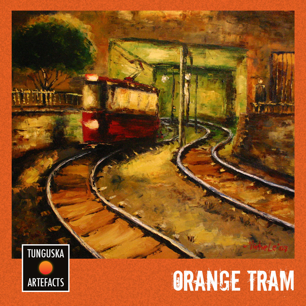 Argonika & Alone in the Chaos - Flight Of The Spirit By The Voivod's Methodic @ 'Tunguska Artefacts - Orange Tram' album (electronic, ambient)