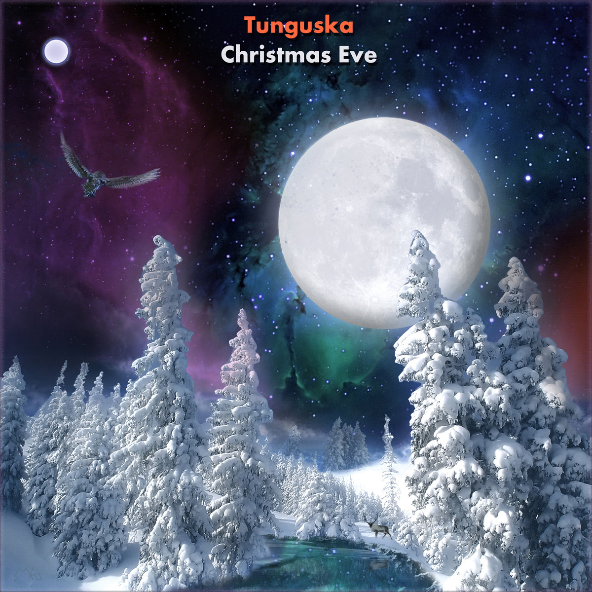 Animula Vagula - Snow @ 'Various Artists - Christmas Eve' album (electronic, ambient)