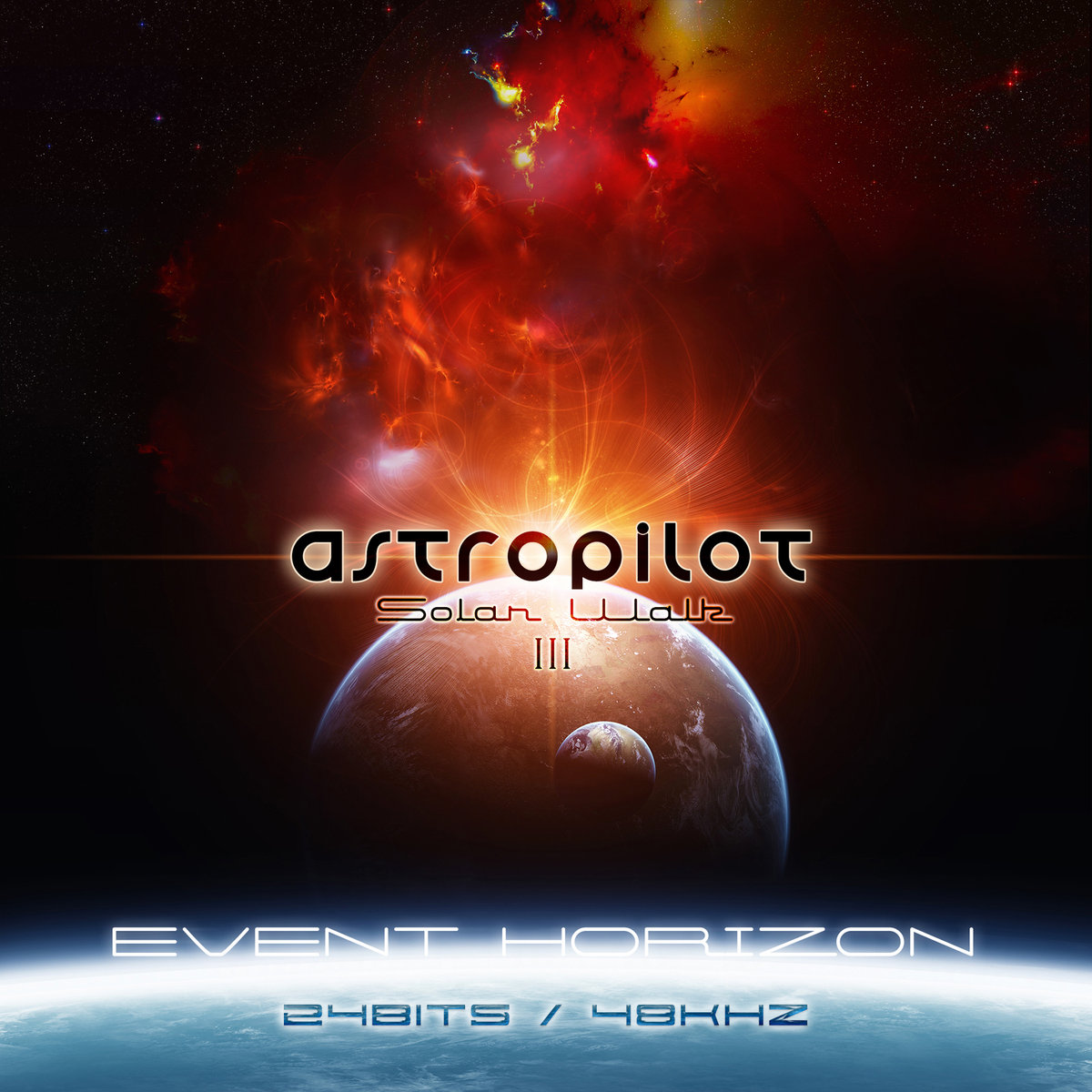 AstroPilot - Distant Worlds @ 'Solar Walk 3 - 'Event Horizon'' album (24/48, electronic)