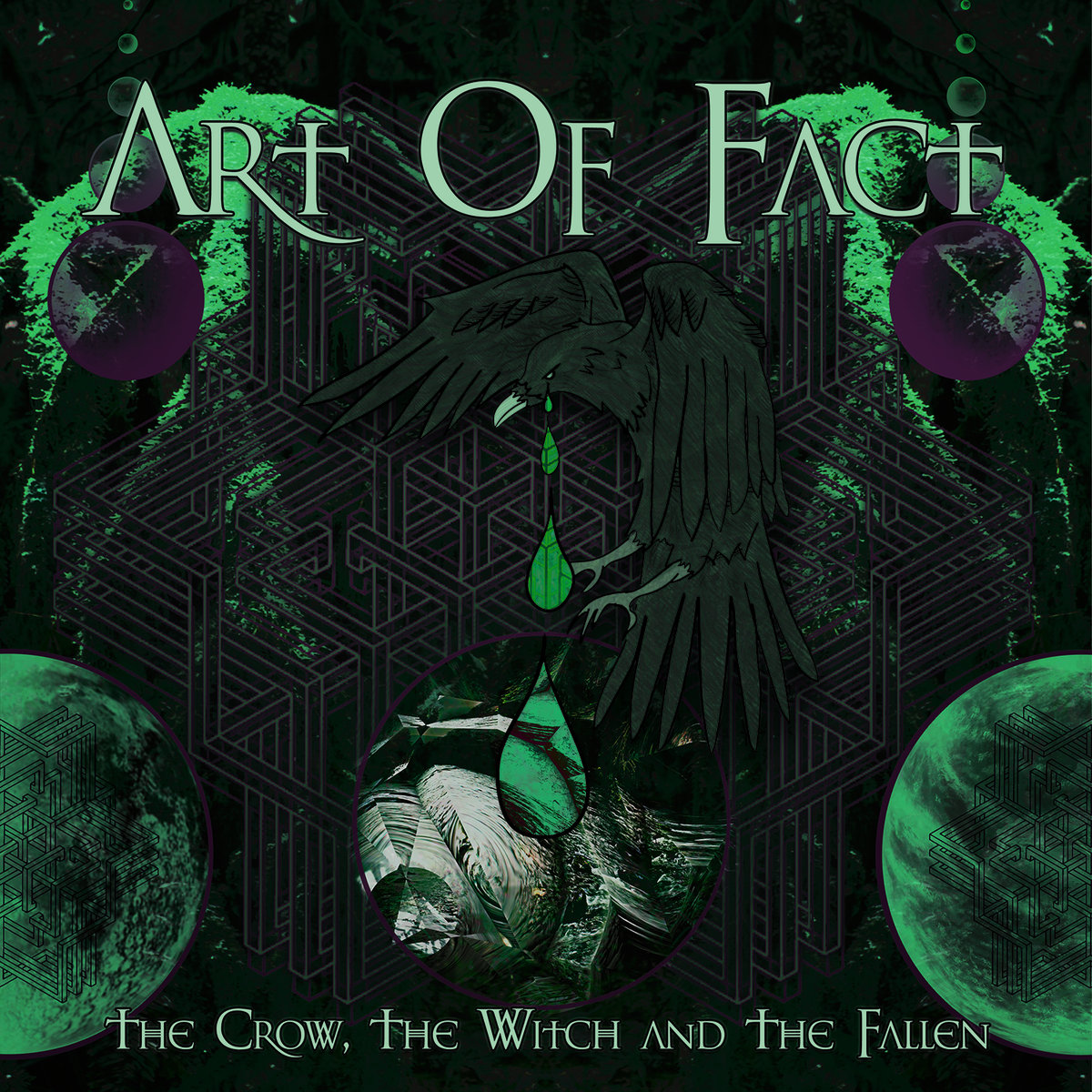 Art Of Fact - The Crow @ 'The Crow, The Witch and The Fallen' album (bass, electronic)