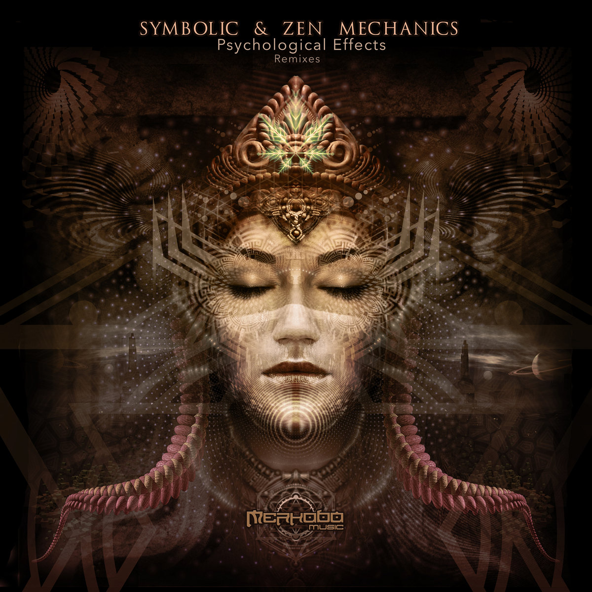 Symbolic & Zen Mechanics - Psychological Effects (Kaminanda Remix) @ 'Psychological Effects - Remixes' album (electronic, future bass)