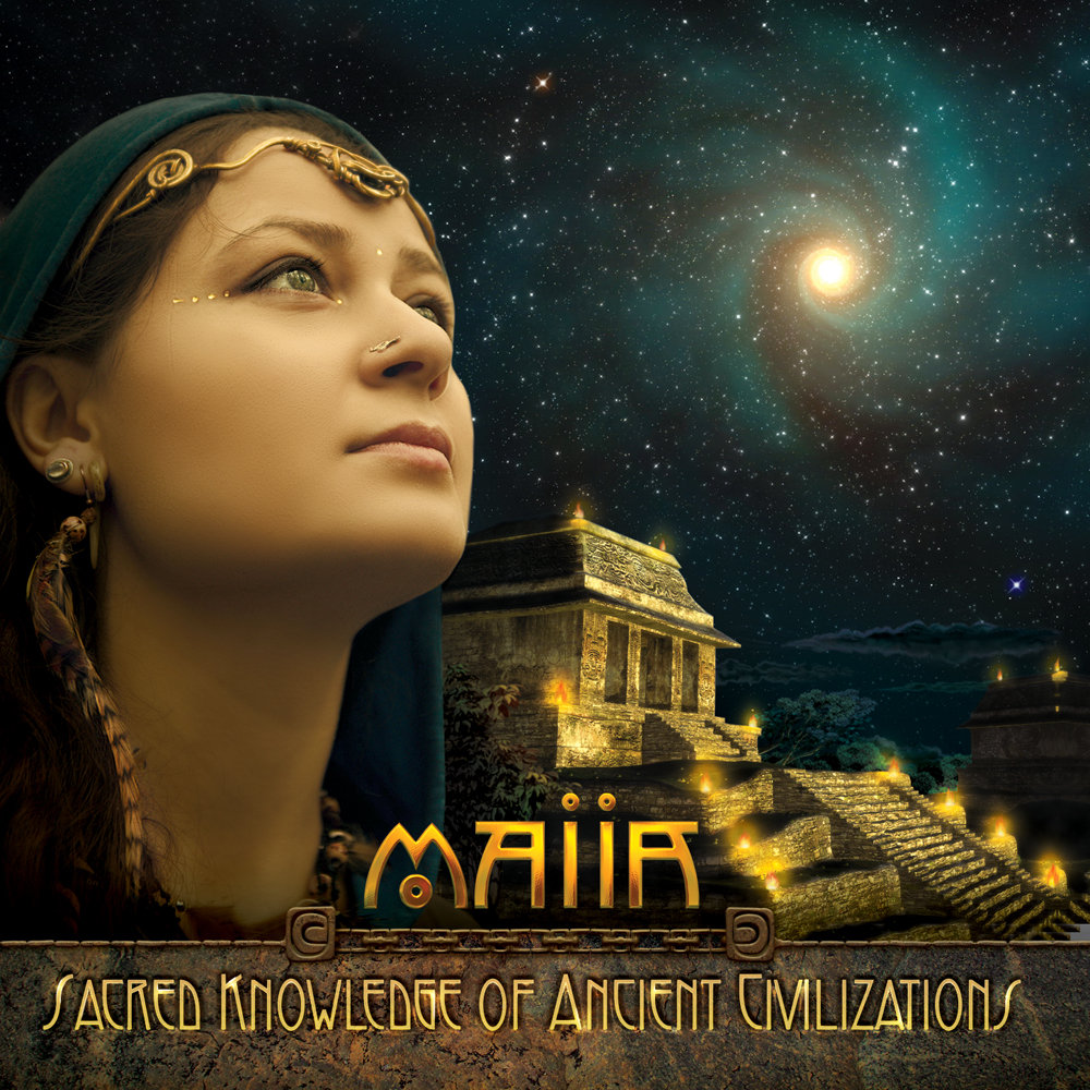 Maiia - Secrets of the Old Castle @ 'Sacred Knowledge of Ancient Civilizations' album (electronic, ambient)