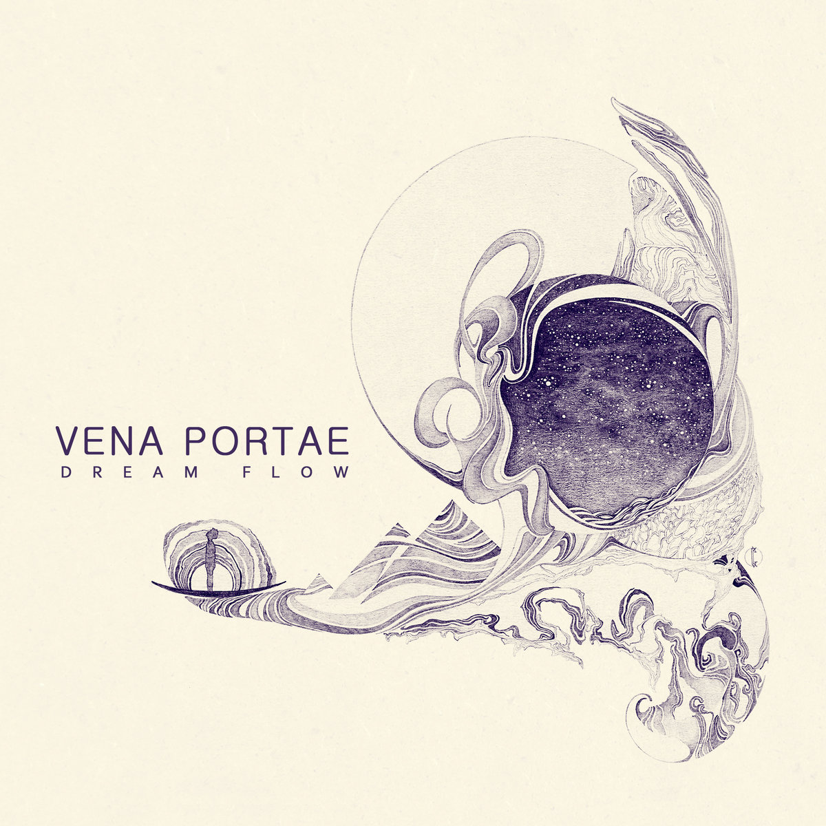 Vena Portae - Time When The Trees Were So High @ 'Dream Flow' album (electronic, ambient)